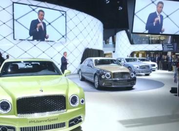 Bentley unveils its new Mulsanne