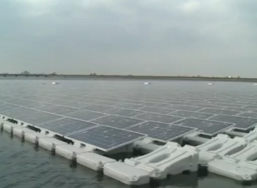 Europe's Largest Floating Solar Farm Powers Up