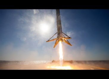 Here's The Best View Yet Of The SpaceX Falcon 9 Rocket Landing