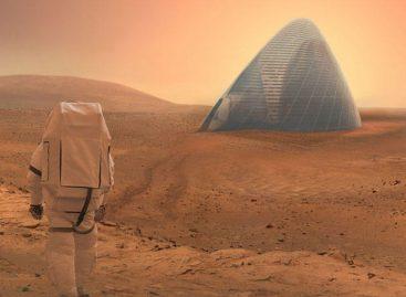 3-D Printed Igloo Wins Mars Habitat Contest