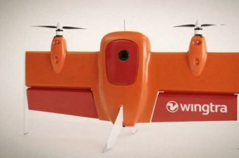 Wingtra Drone is Helicopter-Plane Hybrid