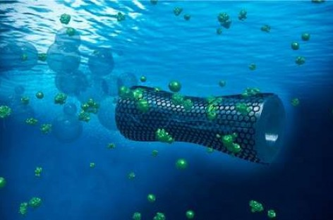 Graphene Microbots Slurp Lead From Polluted Water