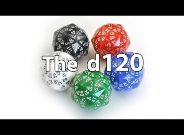 Behold: A 120-Sided Die