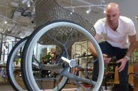 3D-Printed Wheelchair Tailor-Made for the Perfect Fit