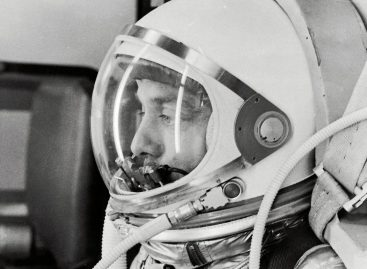 May 5, 1961, Alan Shepard in Spacesuit Before Mercury Launch