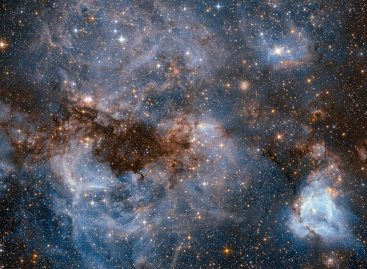 Hubble Peers into the Storm
