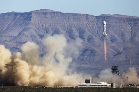 Purdue Experiment Aboard Blue Origin Suborbital Rocket a Success