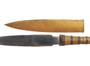 Tutankhamun's Knife Was 'Made From Meteorite Iron'