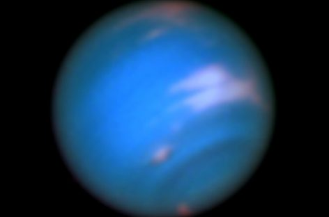 Hubble Sees New Dark Spot on Neptune