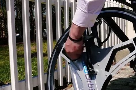 A Wheel to Electrify Your Bicycle