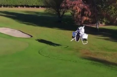 Golf Jetpack Cuts Time From Tee to Green