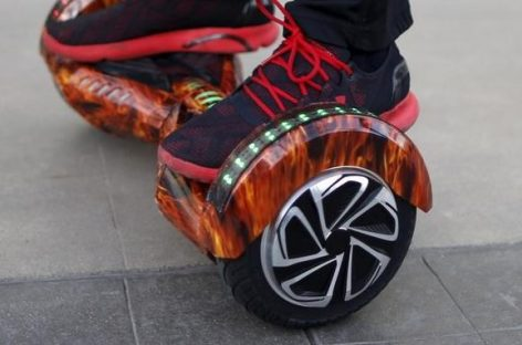 U.S. Recalls Over 500,000 Hoverboards Over Battery Fires