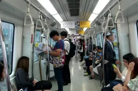 S Korea Helps Pregnant Women Get Seats on Trains