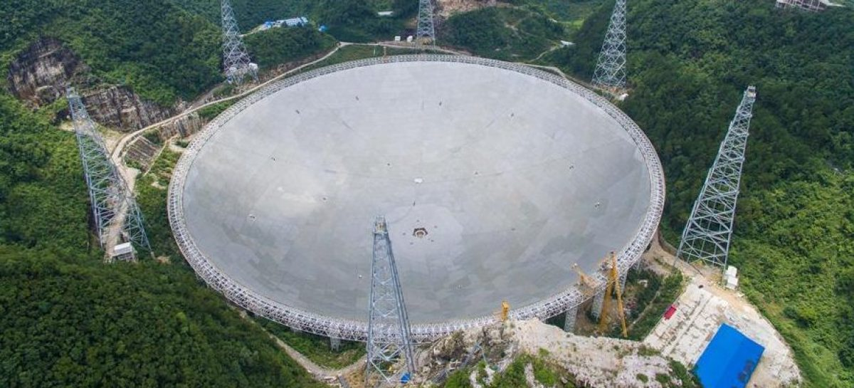 China Finished Building Its Alien-Hunting Telescope