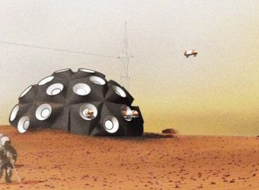 A Futuristic Mars Colony Is Being 3D-Printed In The Mojave Desert