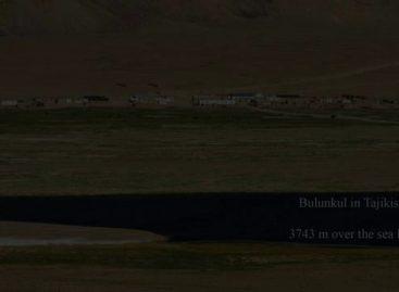 Total Lunar Eclipse In Tajikistan (15 June, 2011)