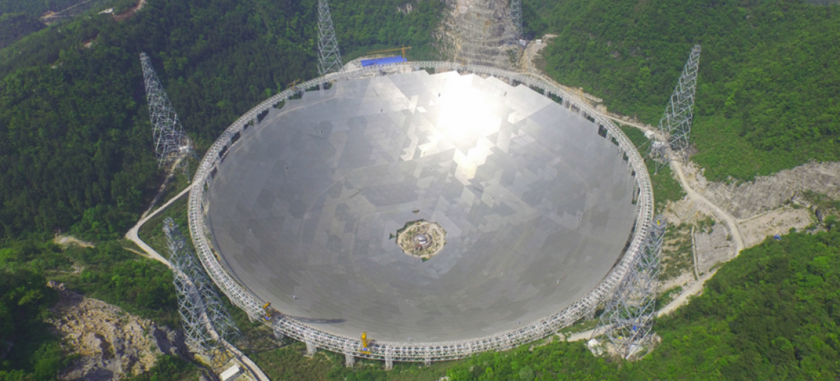 In Search Of Alien Life, China Completes World's Largest Radio Telescope