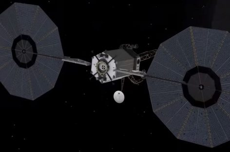 Asteroid Redirect Mission Robotic Trajectory and Crew Operations