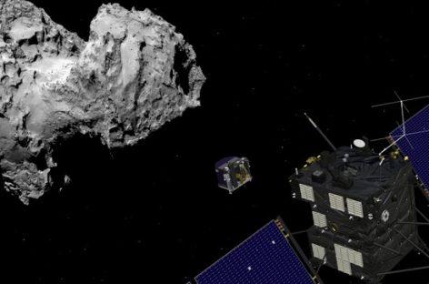 Landmark Rosetta Spacecraft Crashed Onto Comet