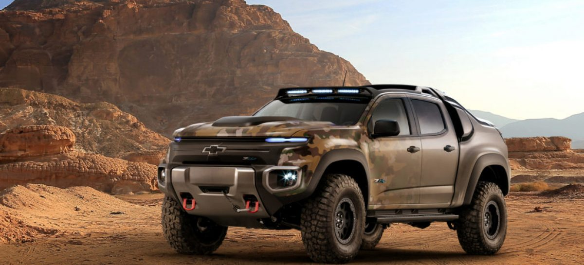 Chevy's Making a Hydrogen-Powered Pickup for the US Army