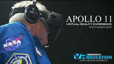 Astronaut Charlie Duke Plays Apollo 11 VR on Oculus Rift