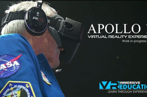 Astronaut Charlie Duke Plays Apollo 11 VR on Oculus Rift