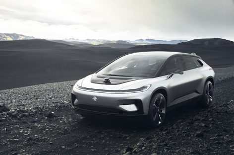 Faraday Future's First Car is Here