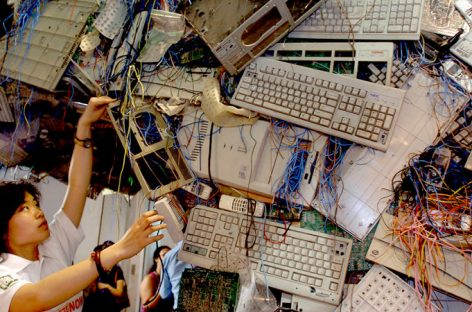 Study Finds E-Waste in Asia Has Increased at a Staggering Pace