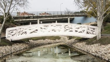 You Can Now Walk Across The First 3D Printed Bridge In The World