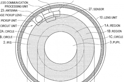 Sony Filed A Patent For Video-Recording Contact Lens