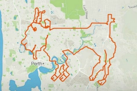 Perth Cycling Team Maps a Journey Resembling a Goat