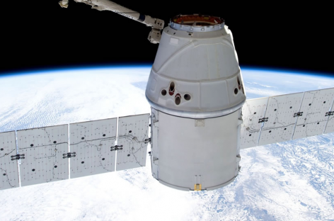 SPACEX TO SEND PRIVATELY CREWED DRAGON SPACECRAFT BEYOND THE MOON NEXT YEAR