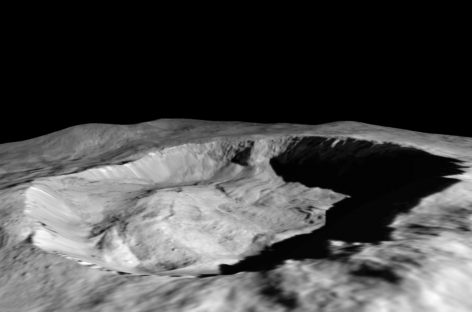 Dwarf Planet Ceres has a Water Cycle but it's not like Earth's