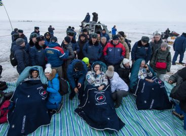 NASA Astronauts Return to Earth, Land Safely in Kazakhstan