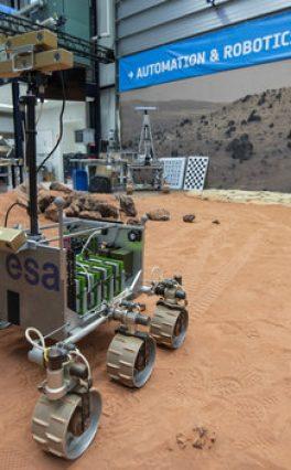 ExoMars Software Passes ESA Driving Test