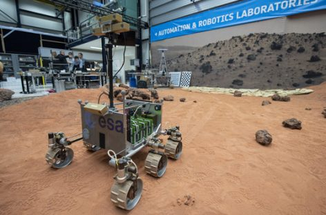 ExoMars Software Passes ESA Driving Test