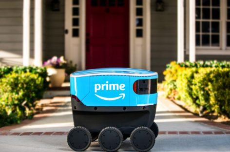 Amazon Robots Have Hit the Streets