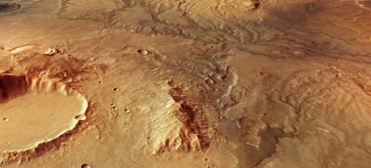 Signs of Ancient Flowing Water on Mars
