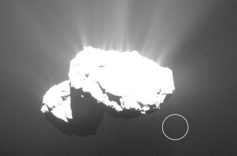 67P/Churyumov-Gerasimenko (or 67P/C-G) Has a Little Friend