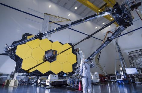 Webb Telescope Secondary Mirror Tested
