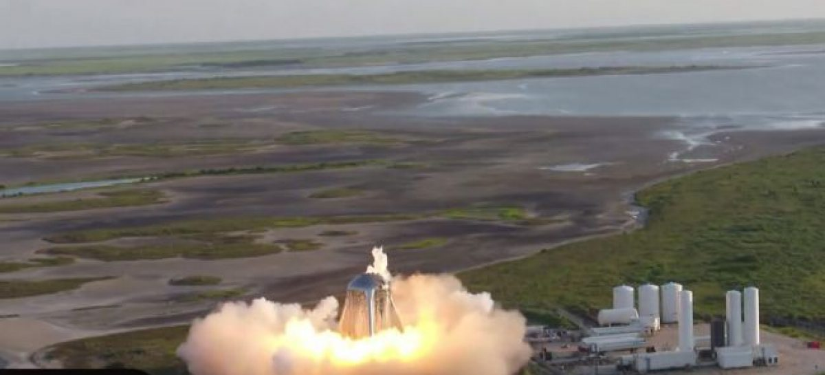SpaceX Aborts Starhopper Rocket Prototype Launch at Last Second